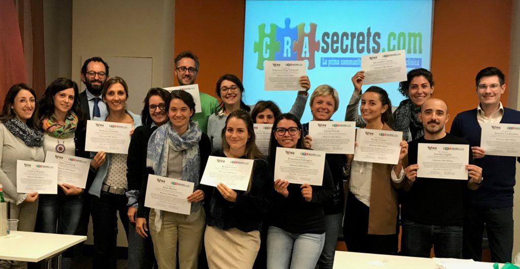I ragazzi della XXXI edizione del Missione CRA (Extended Milano Settembre 2017)