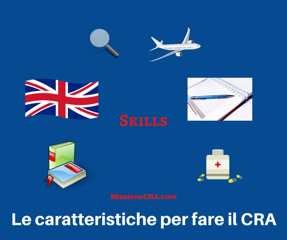 Quali sono le caratteristiche per fare il CRA