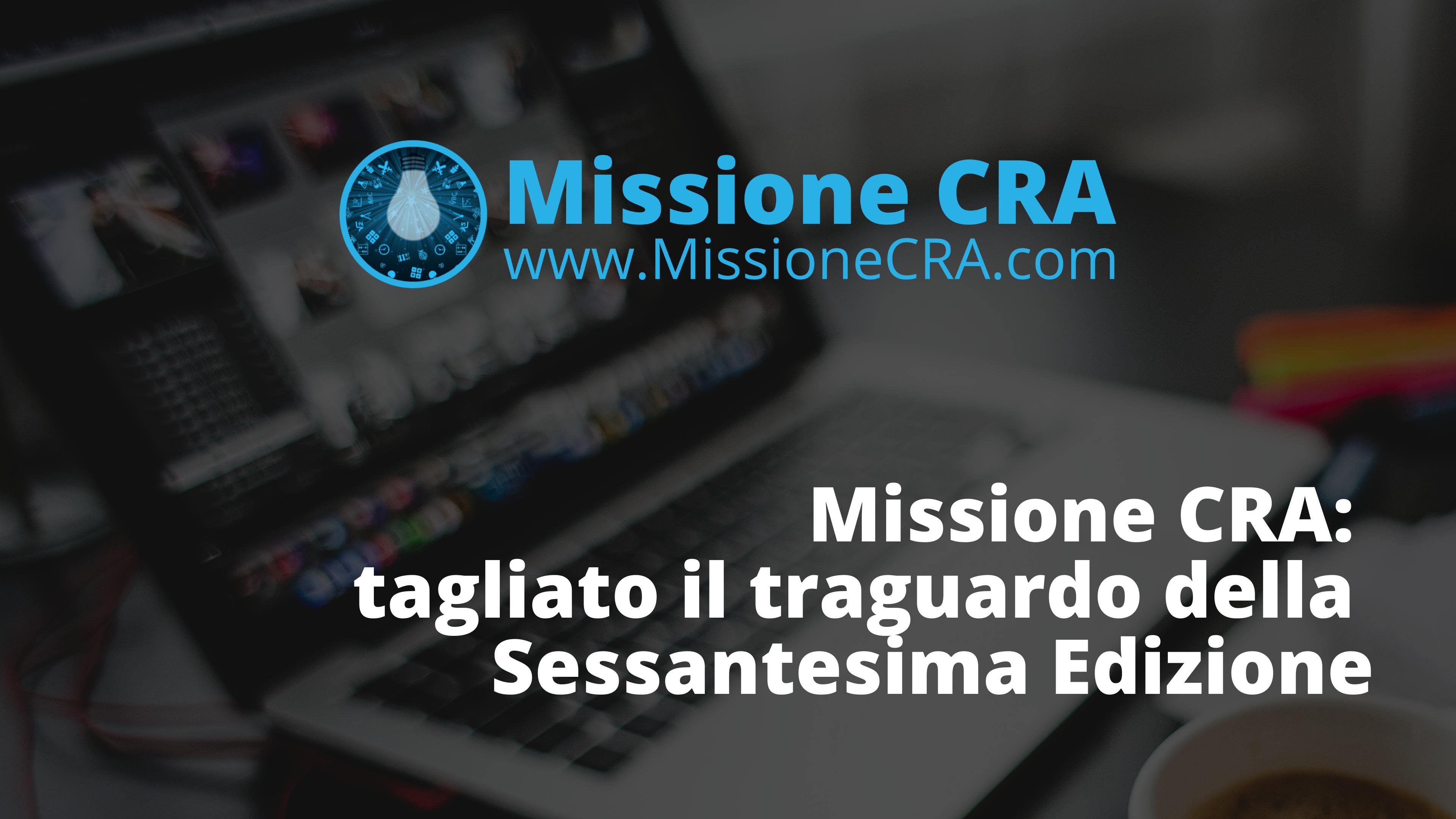 Missione CRA School: nuova edizione in partenza nel 2019