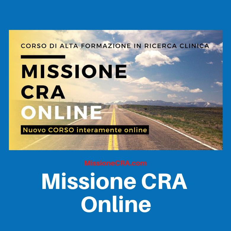 Missione CRA Online 2020: #restoacasa e mi formo. Al via la seconda edizione